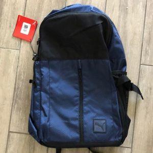 """PUMA Backpack - Navy & Black 19.5"""" NWT"""
